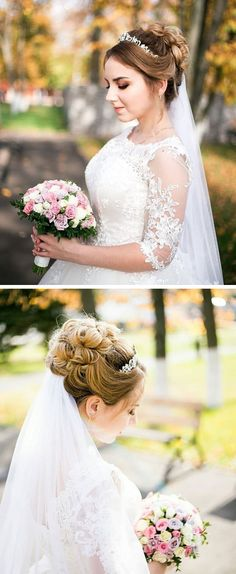 Read more about easy bridal hairstyles Young Girls Hairstyles, Side Part Hairstyles, Bridal Hairstyles, Cute Short Haircuts, Haircuts For Fine Hair, Cute Hairstyles For Short Hair, Medium Hair Styles, Curly Hair Styles, Blonde Bob Haircut