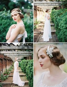 pretty vintage inspired hairpieces