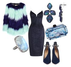 """Blue Sky"" by rita-coppola on Polyvore featuring moda, Zimmermann, Christian Louboutin, Edie Parker, Simply Vera e ADORNIA"