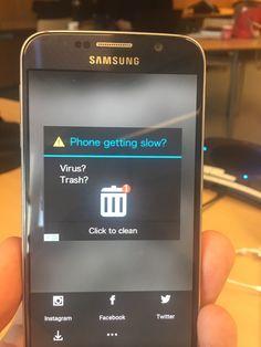 Android laitteen mainos on hämäävä ja miltei pelottava