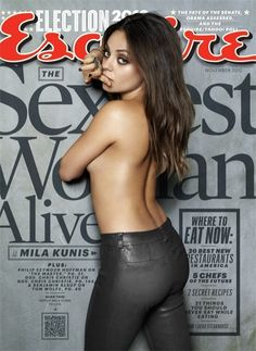 Mila Kunis Named Esquire's 'Sexiest Woman Alive' - Yahoo! News