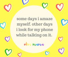 Ohm Mama Affirmations {Energy for Exhausted Mamas} Social Media Site, Freezer Meals, Karma, Affirmations, Self, Wisdom, My Love, Words, Nice