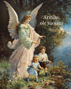 Guardian Angel - thank you for looking after me every day and every night. Angel of God, my guardian dear, to whom God's love commits m. Guardian Angel Pictures, Guardian Angels, I Believe In Angels, Ange Demon, Cross Stitch Pictures, Angels Among Us, Angels In Heaven, Heavenly Angels, Wow Art