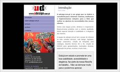 Website para UDESTUDIO, Design Grafico e Web Design