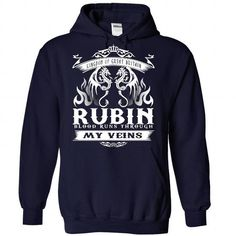 Cool RUBIN blood runs though my veins Shirts & Tees