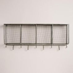 One of my favorite discoveries at WorldMarket.com: Metal and Wood Braedyn Wall…