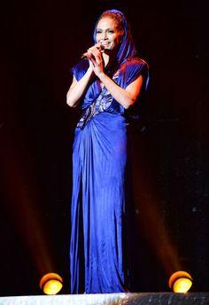 Jennifer Lopez Bronx Concert 2014 Outfits - Jennifer Lopez Concert Costumes  - Cosmopolitan Jennifer Lopez c9c710a318a