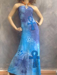 d0161c75a85 Hotty Hotty ankh dress convertible tube dress very versatile by Royalnatty  on Etsy