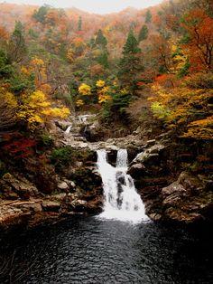 三段滝・紅葉