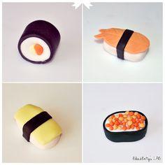 Tutorial Sushi in pasta di zucchero!