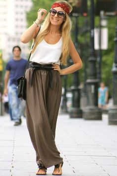 boho style...love this look