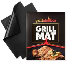 Grillaholics Grill Mat - Lifetime Guarantee - Set of 2 Nonstick BBQ Grilling Mats - x 13 Inch -- For more information, visit image link. Modern Backyard, Large Backyard, Tropical Backyard, Pumpkin Waffles, Outdoor Gadgets, Grill Accessories, Best Bbq, Bbq Tools, Bbq Party
