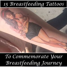 15 Breastfeeding Tattoos to Commemorate Your Breastfeeding Journey | Every Child is a Blessing