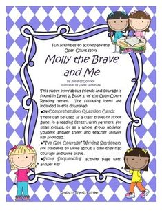 Molly the Brave and Me - Fun Activities to accompany the Open Court story $