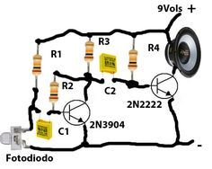 receptor de audio laser
