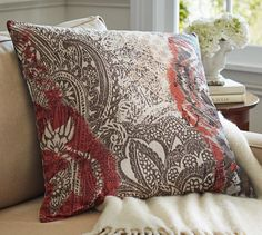 Helena Printed Pillow Cover | Pottery Barn