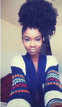 Oh I love her hair! #naturalhair