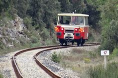 Heritage railways in Provence, southern France - Train du Centre Var (Carnoules - Brignoles) - Train des Pignes (Puget-Théniers - Annot)