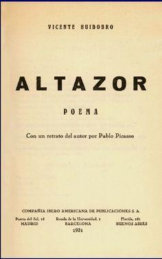 """ALTAZOR... significa """"El que vuela más alto"""" librazo !"""