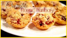 Tartelettes crumble pommes/framboises.  http://youtu.be/cB7vuWnKx0Y?list=UU8HgrsWBMnhAfgqbJQJjZ7w