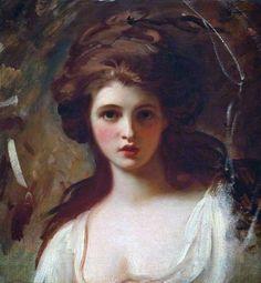 George Romney - Lady Hamilton as Circe - George Romney (pintor) - Wikipedia, la enciclopedia libre