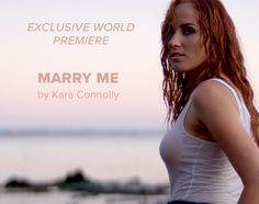 Kara Connolly Marry Me Video and Song Wedding Music, Wedding Album, People Getting Married, First Dance Songs, Independent Music, Important People, Family Affair, She Song, Green Wedding Shoes