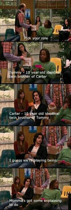 Luv this show 🙂 so funny lol Beck Andre Leon Thomas rofl Siegreich! Luv diese Show :] so lustig lol Beck Andre Leon Thomas rofl Really Funny Memes, Stupid Funny Memes, Funny Relatable Memes, Funny Cute, Funny Posts, Funny Stuff, Funny Things, Funny People, Teenager Posts