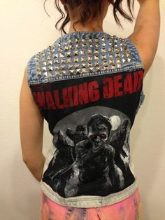 The WALKING DEAD Daryl Dixon inspired Studded Vest