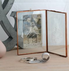 I've just found Small Vintage Style Copper Double Photo Frame. An elegant, vintage style copper double photo frame to take pride of place on your shelf. Copper Photo Frame, Double Photo Frame, Copper Frame, Hair Keepsake, Copper Home Accessories, Photographs And Memories, Contemporary Frames, Vintage Fashion, Vintage Style