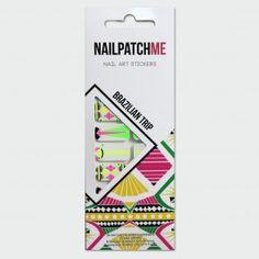 Nail Patch Me - Brazilian Trip