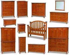 Bunker Hill Amish Bedroom Furniture Collection   Amish Bedroom ...