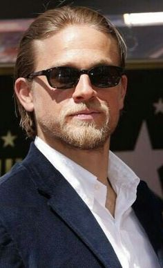 Charlie Hunnam at Katey Segal's Hollywood Walk of Fame ceremony, Tuesday, Sept. 9, 2014.