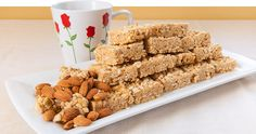 Jamie Eason makes healthy eating a sweet treat! Her honey almond protein crisps are a great alternative to store-bought sweets and processed snack bars. Healthy Treats, Yummy Treats, Sweet Treats, Healthy Recipes, Protein Recipes, Vegetarian Recipes, Honey Recipes, Clean Eating Recipes, Healthy Eating