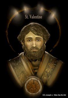 St Valentine of Rome | http://saintnook.com/saints/valentineofrome |