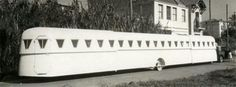 Extendable camper 1930s