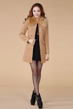 Cheap Wool Coat - Best Winter Wool Coat of Wool Ladies Nizi Windbreaker Coat Online with $47.13/Piece | DHgate
