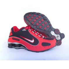 Nike Shox Monster Red Black White