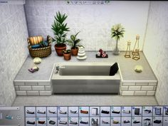 Sims 4 House Plans, Sims 4 House Building, Sims 4 Houses Layout, House Layouts, The Sims 4 Lots, Sims 4 Challenges, Sims 4 Bedroom, Sims 4 House Design, Casas The Sims 4