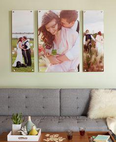 wedding photo display at home - Google Search