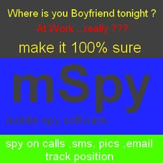 Mobile Spy and Tracking App for Smartphones.  Easy to install and easy to handle.