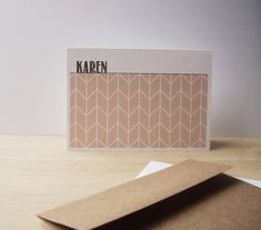 Items similar to Personalized Note Cards - Geometric Stationery Set, Modern Herringbone Note Cards, Personalized Chevron Thank You Notes, Pale Apricot White on Etsy Personalized Note Cards, Stationery Set, Herringbone, Notes, Unique Jewelry, Handmade Gifts, Modern, Etsy, Products