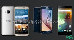 HTC One M9 vs Samsung Galaxy S6 vs OnePlus 2