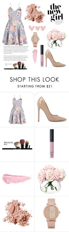 """Untitled #368"" by evelina103 ❤ liked on Polyvore featuring Steve Madden, Bobbi Brown Cosmetics, NARS Cosmetics, By Terry, LSA International and ALDO"