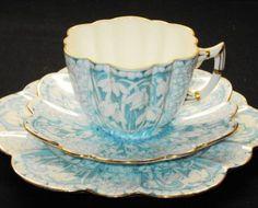 Shelley Wileman Snowdrop simplyTclub Tea cup and saucer TRIO