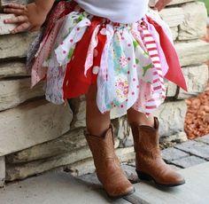 Children's Clothes #Fabric Tutu #Boots