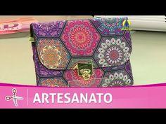 Vida com Arte | Carteira Labirinto por Adriana Dourado - 27 de Agosto de 2016 - YouTube
