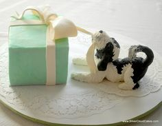 Dog cake by Silver Cloud Cakes                                                                                                                                                     More