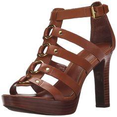 Lauren Ralph Lauren Women's Stasia Heeled #Sandal ^^ Check out this great image : Block heel #sandals