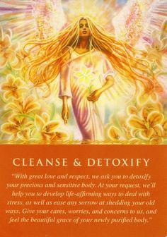 Weekly Angel Reading: Detox, No Worries, Write, Spiritual Understanding