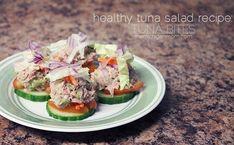 Healthy Tuna Salad Recipe- The Michigan Mom #Vegetarian #Food #Recipes